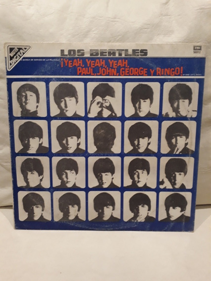 Los The Beatles Yeah Yeah Vinilo Lp Nacional