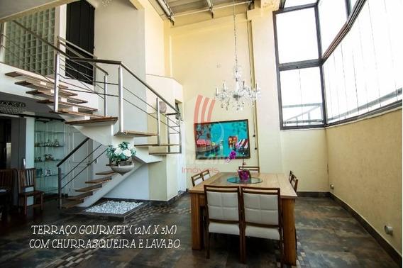 Cobertura Duplex Linda Para Venda No Bairro Vila Prudente Com 4 Dormitórios Sendo 2 Suítes, 4 Vagas, 214 Metros ! - 5018