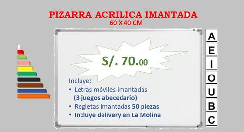 Pizarra Acrílica Imantada