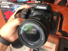 Câmera Canon Rebel T6i Com Lente 18-55mm + 64gb Sd