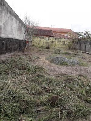 Terreno Murado E Aterrado, Em Mongaguá