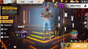 Con-ti De Free Fire Top