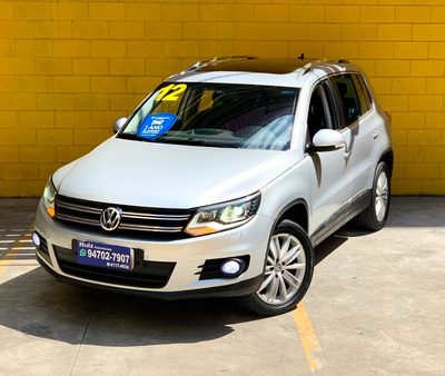Volkswagen Tiguan 2.0 Teto Solar Bancos Couro Park Assist