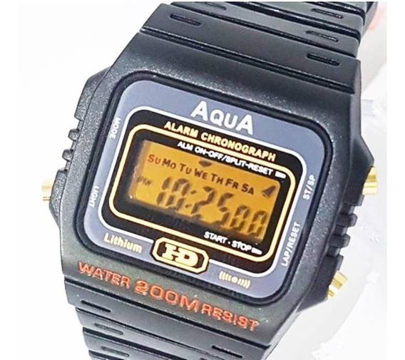 Kit 10 Relógios Aqua Aq37 + 100 Baterias De Brinde! Atacado!