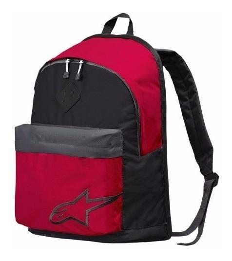 Mochila Alpinestars Starter 17l Notebook Rojo - Um Moto