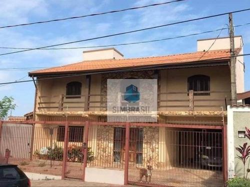 Imagem 1 de 8 de Casa Com 4 Dormitórios À Venda, 260 M² Por R$ 636.000,00 - Jardim Alto Da Cidade Universitária - Campinas/sp - Ca1512