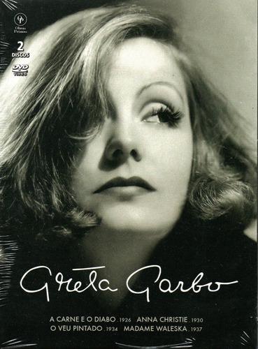 Dvd Box Greta Garbo C/4 Filmes - Opc - Bonellihq R20