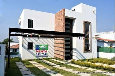 Preciosa Casa Nueva Con Innovador Diseño Y Vista Panorámica