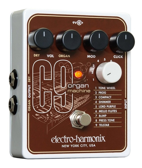Pedal Electro Harmonix C9 Organ Machine Com Nota Fiscal**