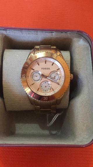 Envio Gratis Reloj Fossil Para Dama En Su Estuche
