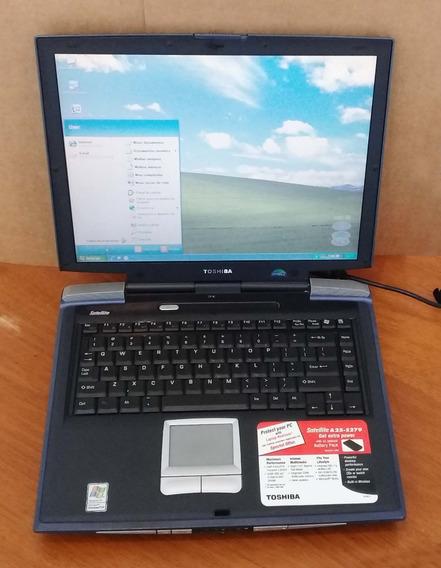 Notebook Toshiba Satellite A25-s279 - Leia Descrição