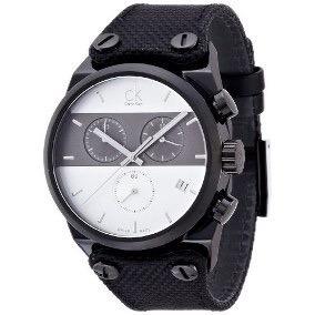 Reloj De Pulsera Calvin Klein Eager Mens Quartz K4b384b6