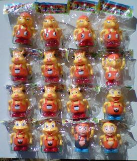 Muñecos Varios A Cuerda 8 Cm Altura