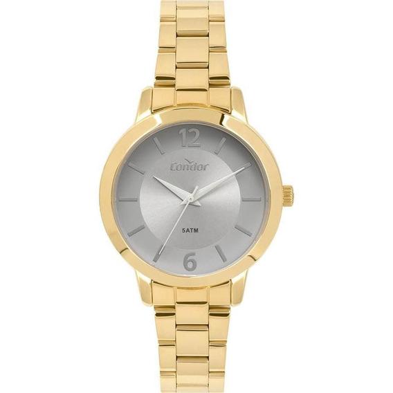 Relógio Condor Feminino Co2035kyz/4c Casual Dourado