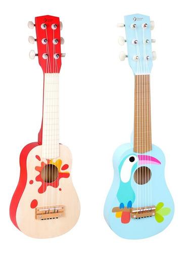 Imagen 1 de 6 de Guitarra De Madera Criolla Ukelele Infantil Classic World