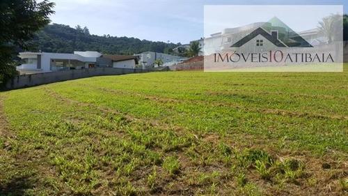 Imagem 1 de 12 de Terrenos Em Condomínio À Venda  Em Atibaia/sp - Compre O Seu Terrenos Em Condomínio Aqui! - 1452954