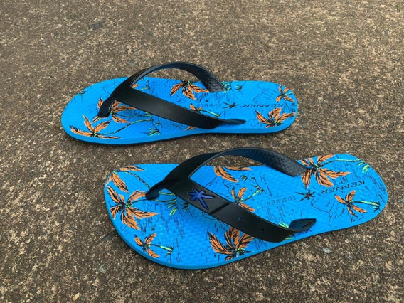 Sandália Kenner Summer Island - Azul