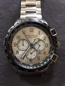 Relógio Masculino Náutica Cronógrafo N24006g