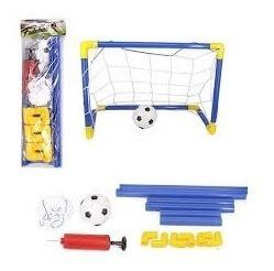 Kit Jogo De Futebol Chute A Gol Golzinho Com Trave Completo