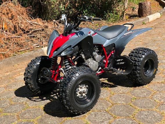 Yamaha Quadriciclo Raptor 250 (partida Elétrica) Muito Novo