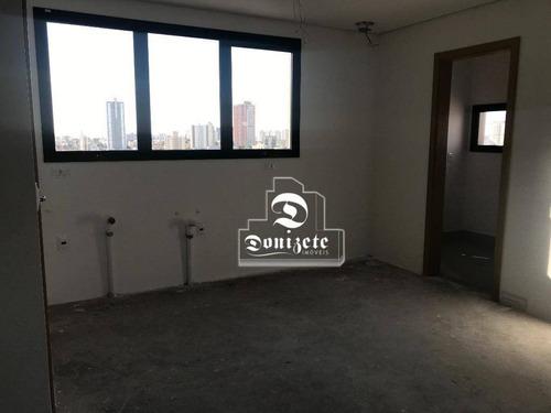 Apartamento Com 2 Dormitórios À Venda, 100 M² Por R$ 950.000,10 - Jardim - Santo André/sp - Ap14558