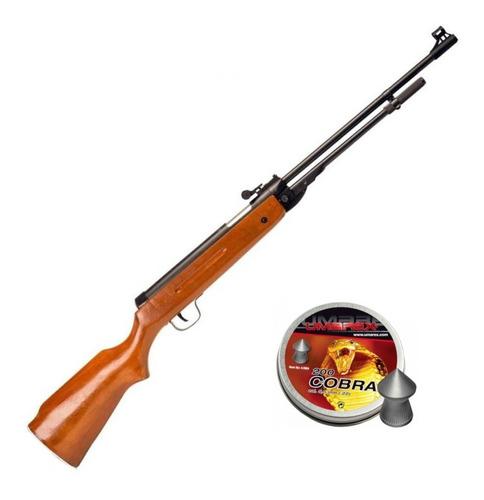 Chumbera Rifle 5,5mm B3 Culata Madera Bentancor Outdoor