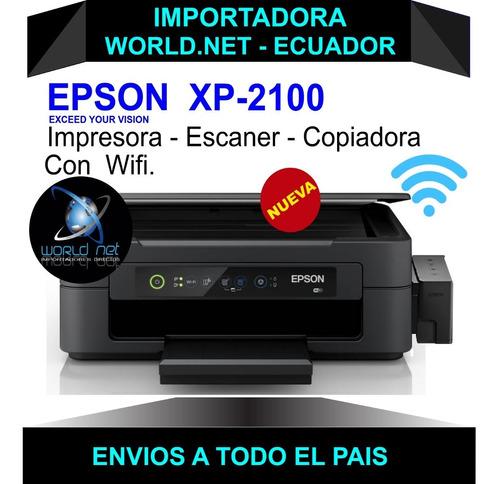 Imagen 1 de 7 de Impresora Epson Xp 2100   Mejor Q  L3150 - L3110