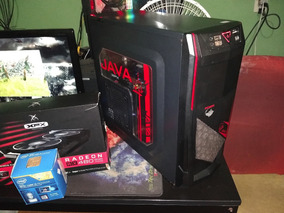 Pc Gamer I5 4430 + Rx 480 8gb + 8gb Ddr3 + Ssd 240gb
