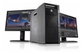 Workstation Hp Z800 2x Xeon E5620 + 2 Monitor Hp La2205