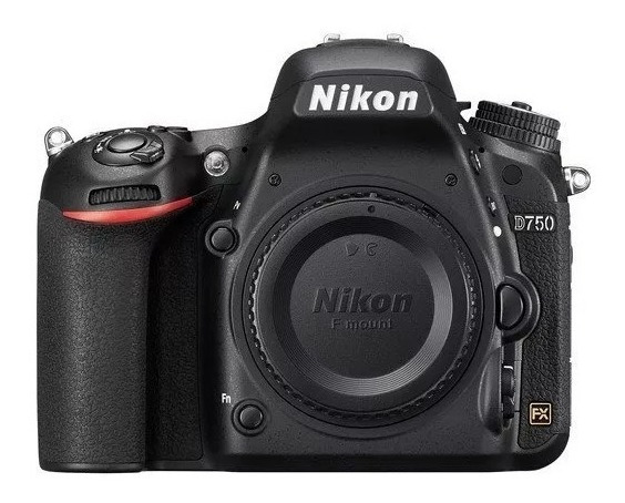 Nikon D750 (pagamento A Vista Por R$5.400)