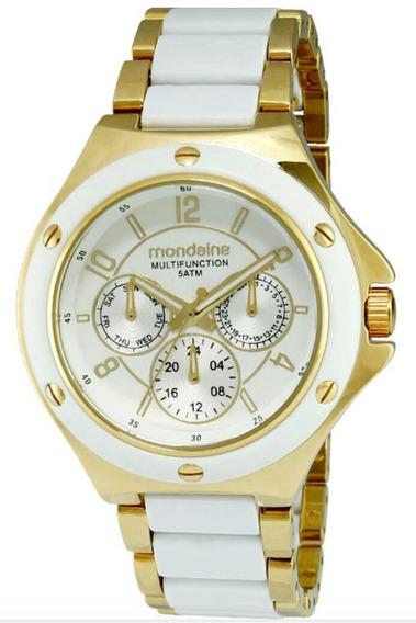 Relógio Mondaine Feminino 94473lpmgdp1 Analógico Multifunção