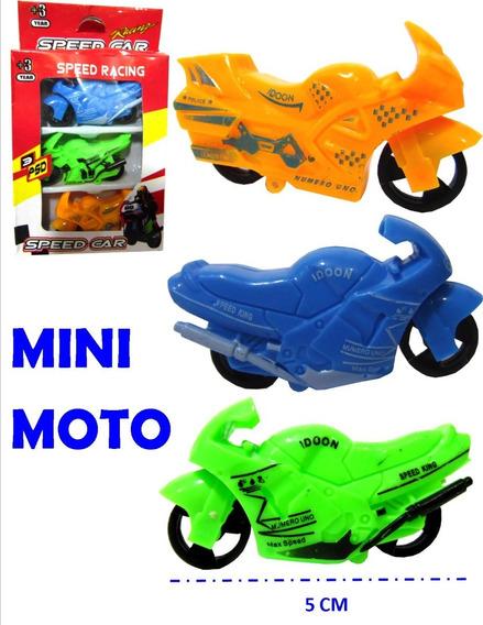 Motos Mini, Set X 3 Motos Juguete