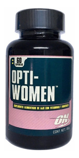Multivitaminico Opti-women On 60 Tabletas (30srvs) Sin Sabor