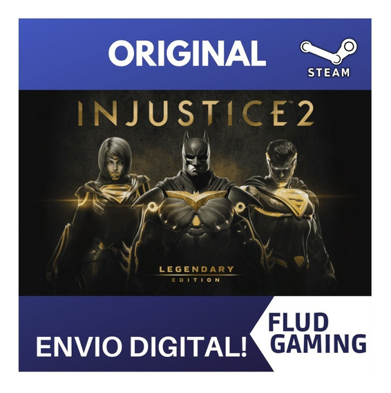 Injustice Legendary Edition Pc Steam Offline