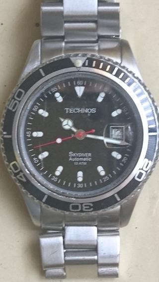 Relógio Technos Skydiver Automático
