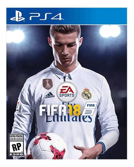 Fifa 18 Playstation 4 Original Usado