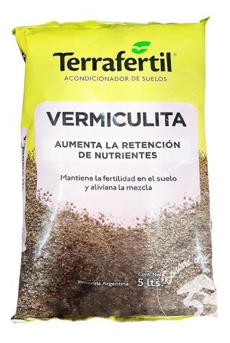 Vermiculita 5dm3 - Terrafertil Acondicionador De Suelos