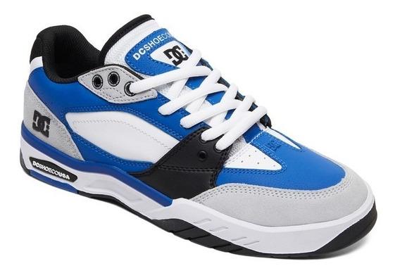 Zapatillas Dc Shoes Mod Maswell Negro Blanco Coleccion 2020