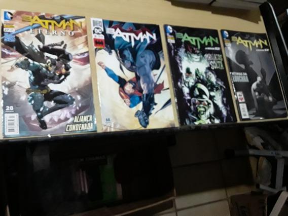 Hqs Kit Batman Vítimas Da Loucura + Maníacos A Solta + 2