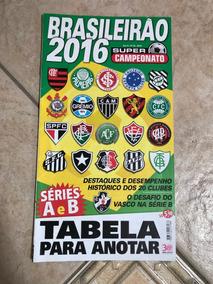 Revista Super Campeonato 26 Brasileirão 2016 Séries A E B