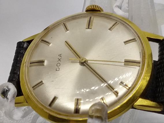 Relógio De Pulso Doxa Swiss, Banho De Ouro