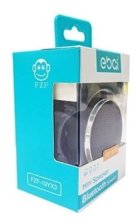 Mini Speaker Bluetooth Ebai Cor Preto