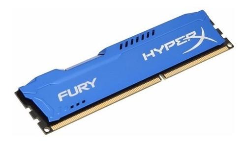 Memoria Kingston Hyperx Fury Blue, 4gb, Ddr3, 1866 Mhz, Cl10