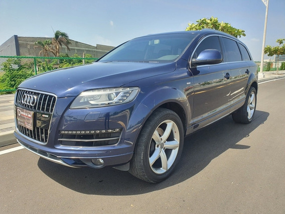 Audi Q7 Tdi Quattro Attraction Aut 4x4 Modelo 2014 Diesel
