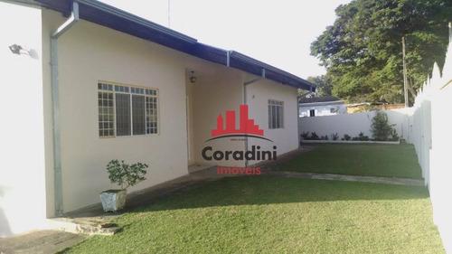 Chácara Com 3 Dormitórios À Venda, 1250 M² Por R$ 550.000 - Chácara Recreio Cruzeiro Do Sul - Santa Bárbara D'oeste/sp - Ch0096