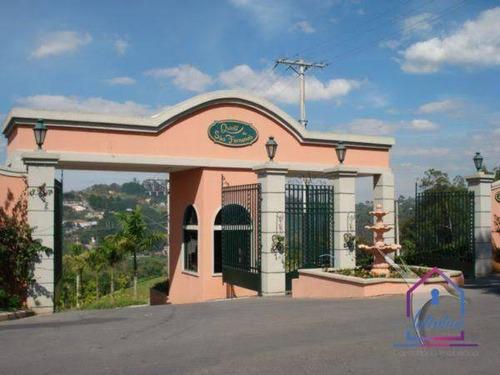 Imagem 1 de 6 de Lindo Terreno Condomínio  Quintas São Fernando Granja Vianna R$ 225.000,00 - Te0342