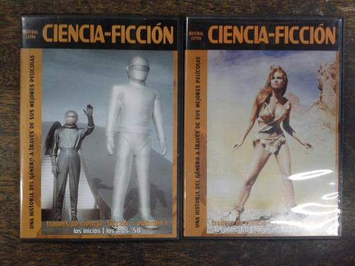 Imagen 1 de 4 de Trailers De Ciencia Ficcion * Años 50 Al 90 * 2 Dvd *