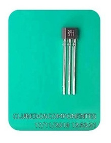 Ah3503 Sensor Efeito Hall 3503 503 To-92 # Kit C/ 4 Peças