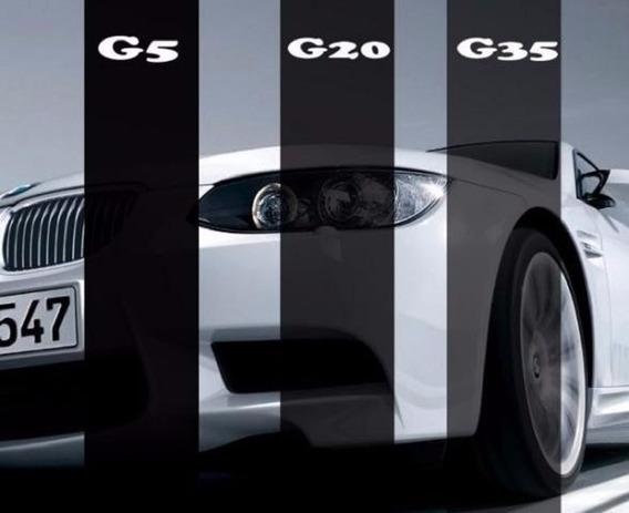 Bobina Película Insulfilme G5 G20 G35 1,50x15 Mts Preta Carr