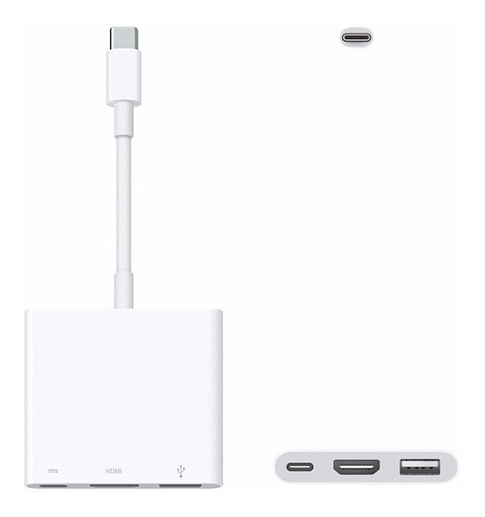 Adaptador Apple De Usb-c Para Av Digital Multiporta Hdmi